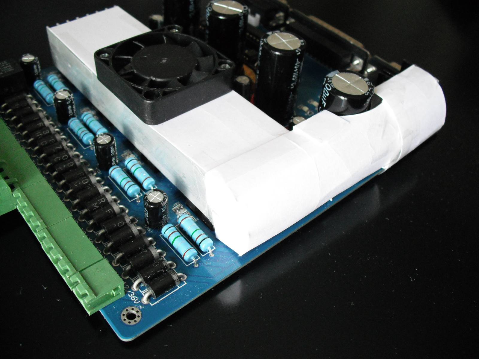 Tb6560ahq Driver Board Fan Speed Control Electronic Tips Hints 7812 Regulator Circuit Air Flow Duct To The 7805 And Regulators